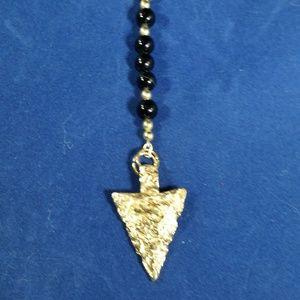 Men's Gold Arrow Necklace